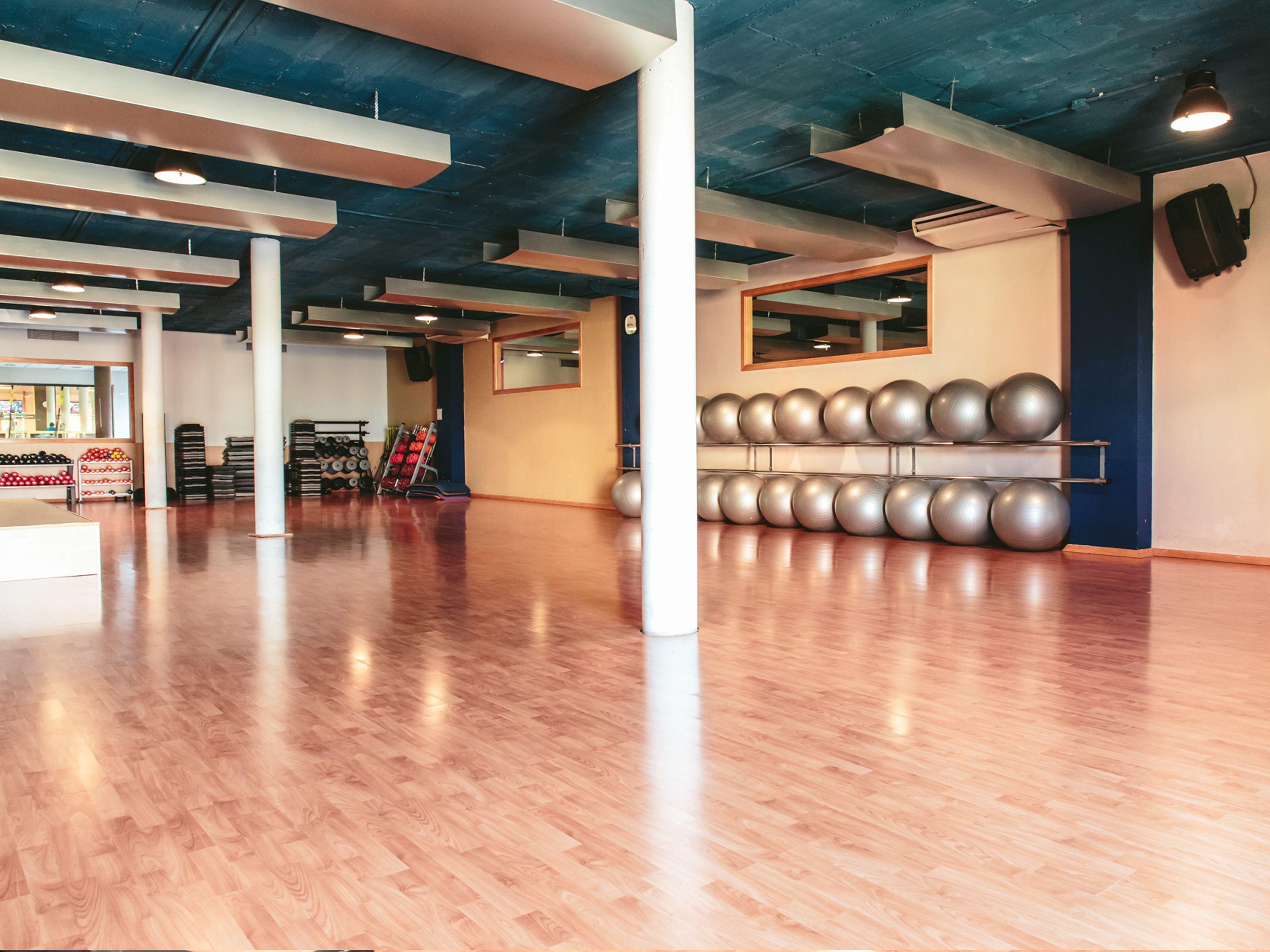 sala b gimnasio club deportivo stadio alicante