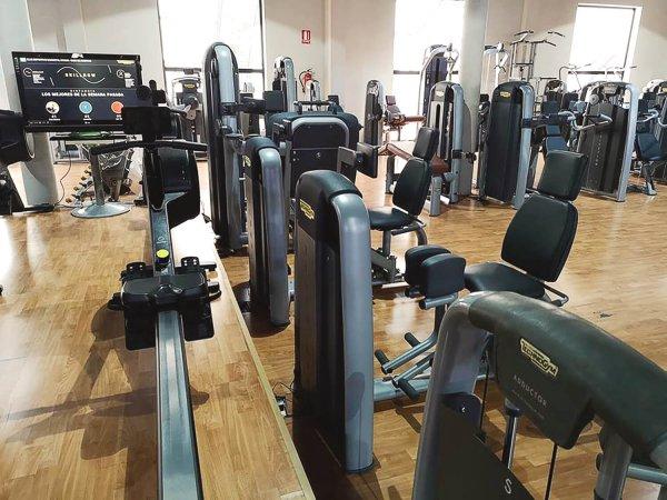 sala fitness musculacion
