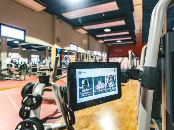 sala fitness peso libre